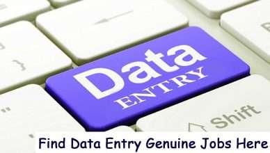 Data Entry Genuine Jobs