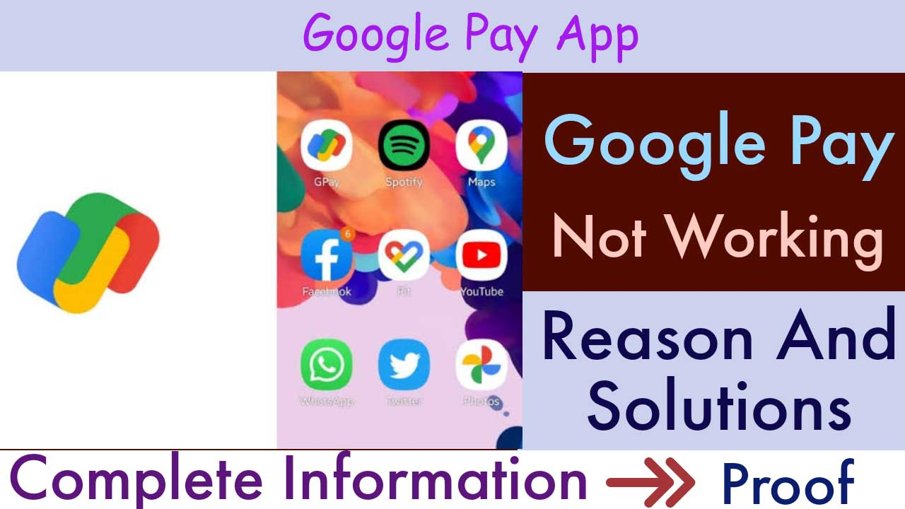 Google Pay Not Working