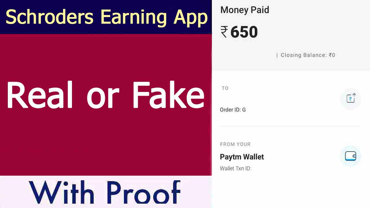 Schroders Earning App Review