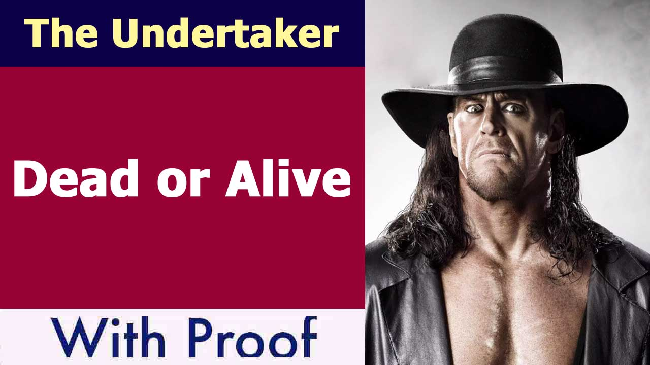 The Undertaker Dead or Alive